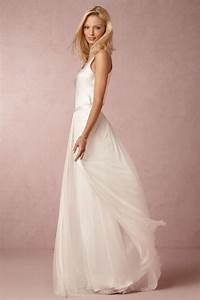 simple satin beach wedding dress white bride gown with With simple dresses to wear to a wedding