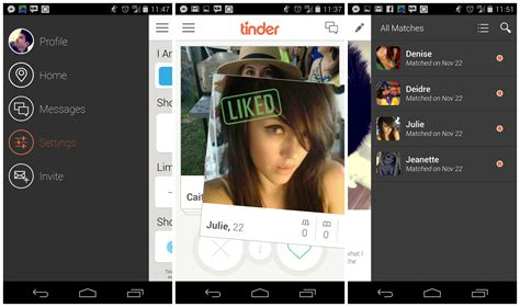 image gallery tinder android