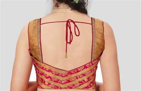 30+ Latest Simple Blouse Back Neck Designs 2018, 2019 & 2020