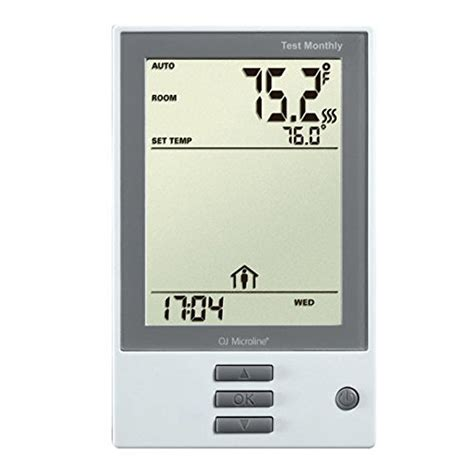 underfloor heating programmable thermostat with gfci includes floor sensor 735090525484 ebay
