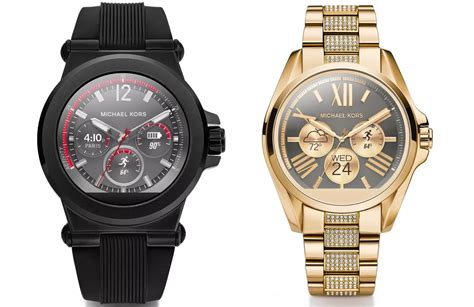 android watches michael kors unveils new android wear line casio s 500