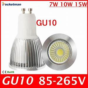 Gu10 Led 10w : 2016 new super bright gu 10 bulbs light warm white 85 265v 7w 10w 15w gu10 cob led lamp light gu ~ Orissabook.com Haus und Dekorationen