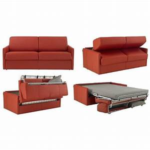 rapido convertibles canapes systeme rapido canape lit 2 With canapé cuir rouge convertible