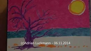 Malen Mit Wasserfarben : sonnenuntergang im herbst bild mit wasserfarben malen youtube ~ Orissabook.com Haus und Dekorationen