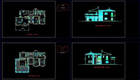 villa plans  dwg plan  autocad designs cad