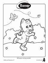 Barney Colorear Dibujos Oh Ad3 Sc sketch template