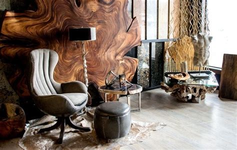 der wurzelholz tisch das exotische wunder  der eigenen