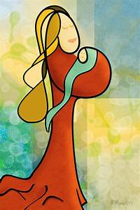 The gallery for --> Abstract Painting Of Mother And Child