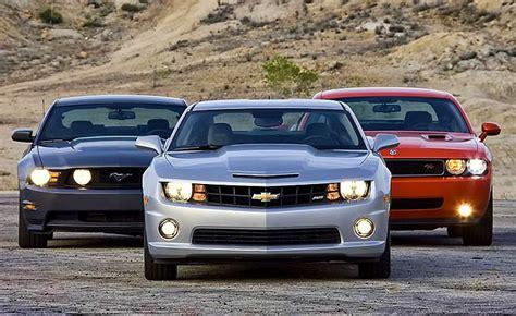 pony car war modern muscle cars go head to head throttlextreme