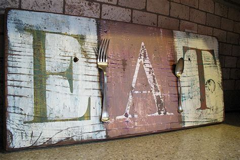 pier 1 inspired distressed kitchen wall copycat crafts