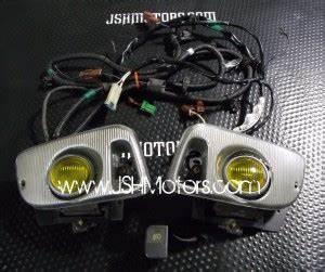 92 Integra Lights Jdm Civic 92 95 Eg6 Stanley Yellow Fog Lights