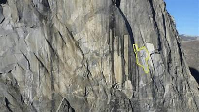 Yosemite El Rockfall Capitan Rock Fall Park
