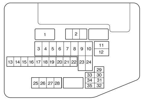 2014 Mazda 6 Fuse Box Diagram by Mazda Cx 9 2007 2010 Fuse Box Diagram Auto Genius