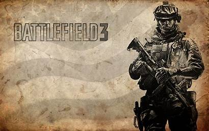Battlefield Background Flag Soldier Soldiers American Military