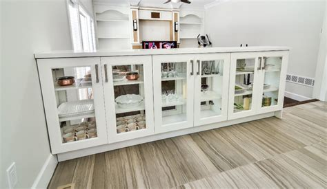 Modern Storage Cabinets With Glass Cabinets Vancouver
