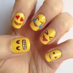 Diy emoji nail art omg emoji nail decal diy click through for view images emoji nails on pig nail art divergent and prinsesfo Image collections