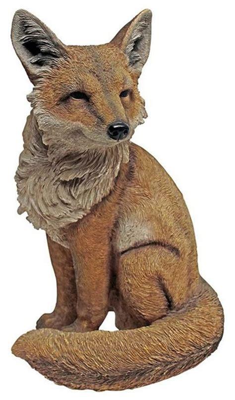Fox Garden Statue Sculpture