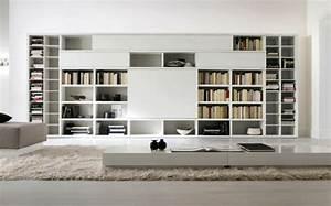 Bibliothèque Murale Design : l tag re biblioth que comment choisir le bon design ~ Teatrodelosmanantiales.com Idées de Décoration