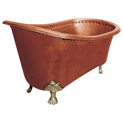Copper Bathtub Clawfoot Design  Coppersmith® Creations