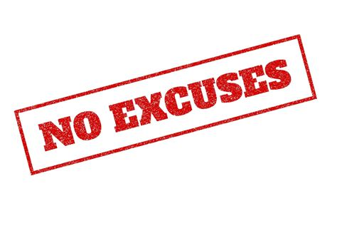 The no-excuses culture