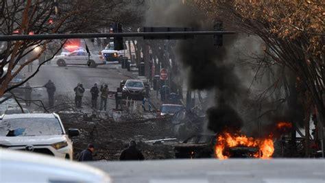 nashville explosion damages buildings downtown christmas