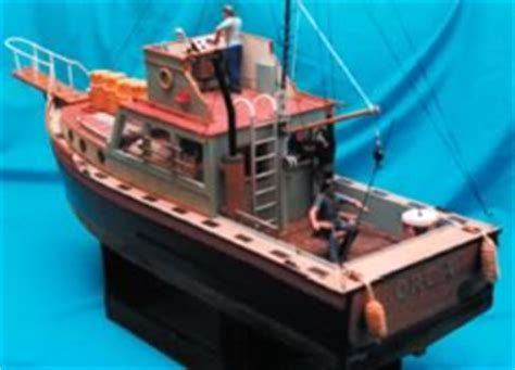 Orca Fishing Boat Plans by Orca From The Film Jaws Model Boat Plan Mar2463