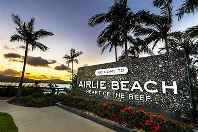 Beach Airlie Island Whitsundays Trip Fraser Cairns