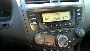 2004 Honda Accord Radio Short Problem