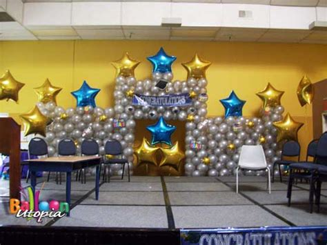 star themed decor  balloon utopia