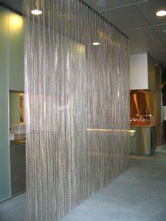 metal curtains room dividers and separations on