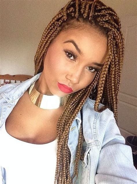 box braids hairstyles  black women