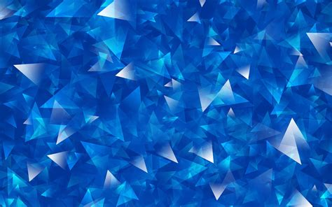 25+ Blue Crystal Wallpapers, Backgrounds, Images, Pictures