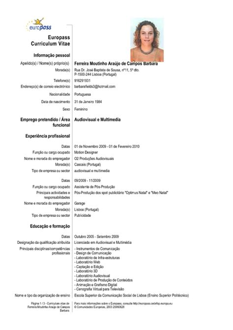 Curriculum Vitae Ejemplo Mexico Word Example Good Resume Template
