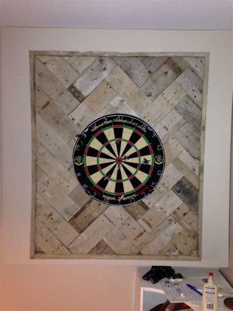 handmade reclaimed wood dartboard backboard  etsy