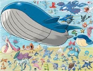 All Water Pokemon