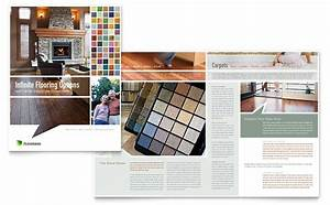 Carpet hardwood flooring brochure template word for Carpet catalogue design