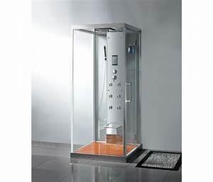 Cabine De Douche En Verre : mobilier bain ~ Zukunftsfamilie.com Idées de Décoration