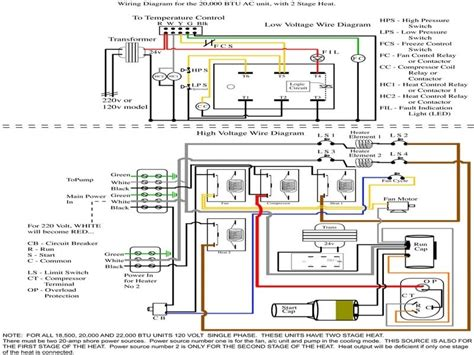 coleman heat pump thermostat wiring diagram wiring forums