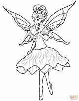 Fairies sketch template