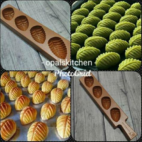 Kalau tak punya cetakan rolling pin untuk membuat tekstur yang cantik, kita masih bisa menggunakan garpu. Cetakan Kue Kering Nastar Daun Gulung Kue Ku Tok Thok Praline Coklat Satu | Shopee Indonesia