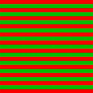 Christmas Colors Striped Pattern