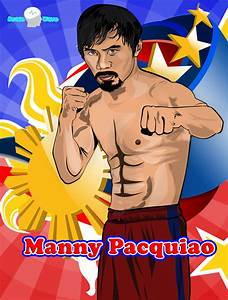 Manny Pacquiao Vector by brainwavedesigns on DeviantArt