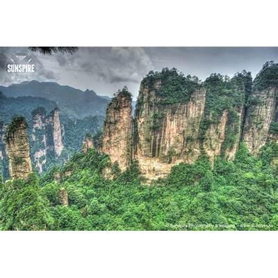 Zhangjiajie National Forest Park Hunan China 18 july