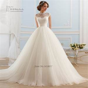 Vintage boho wedding dress 2016 lace high neck bridal for No lace wedding dress