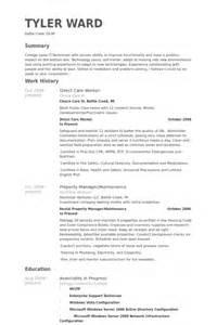 direct care worker resume direct care worker resume sles visualcv resume sles database