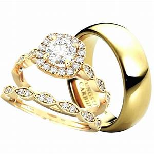 made for two his hers wedding ring set With his and hers matching wedding ring sets