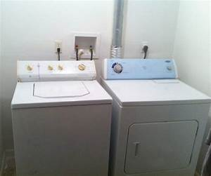 Washer Dryer Connections Meaning