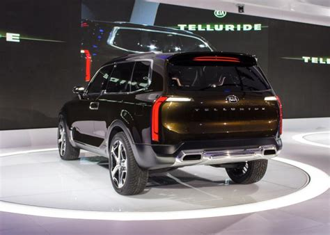 detroit auto show kia telluride concept ny daily news