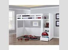 My Design Bunk Bed WStair KSingle #104028