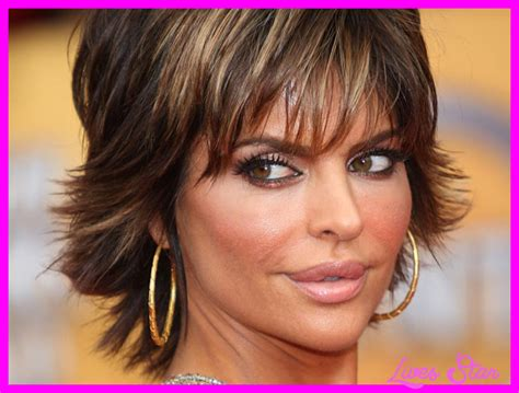 Lisa rinna short hairstyle   LivesStar.Com